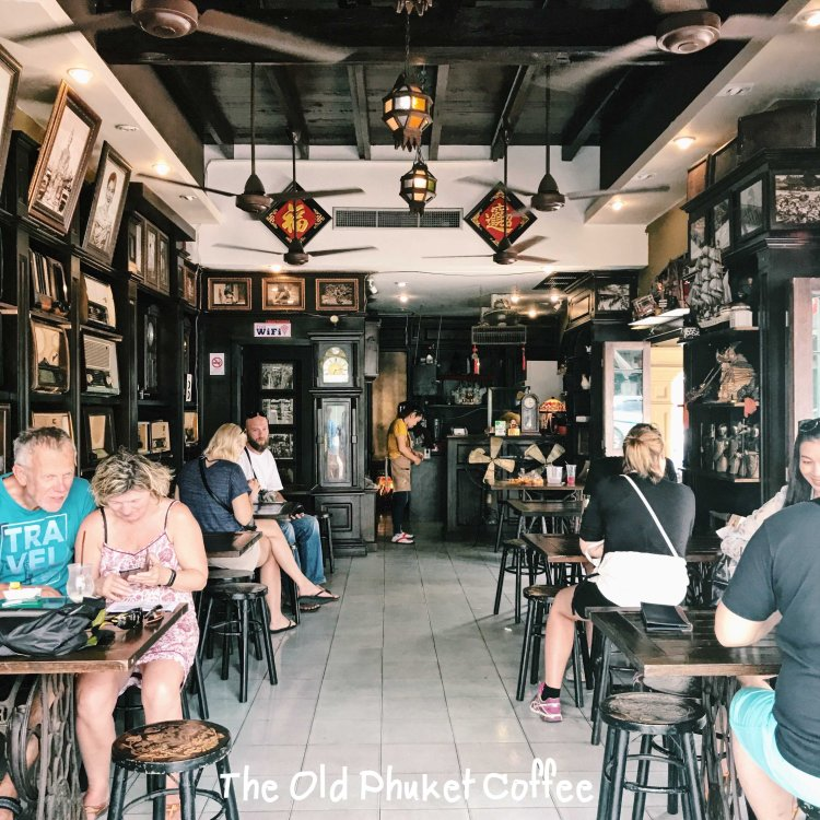 The old Phuket Coffee